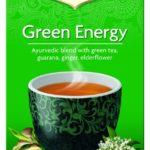 Yogi Tea - Organic Ancient Green Energy Tea + Kombucha/ Guarana - 17bags
