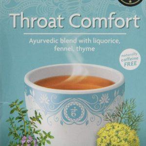 Yogi Tea - Organic Ancient Herbal Formula Throat Comfort - 17bags
