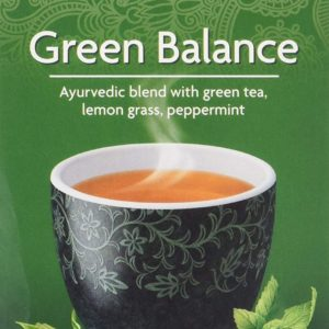 Yogi Tea - Organic Ancient Green Balance Tea + Kombucha - 17bags