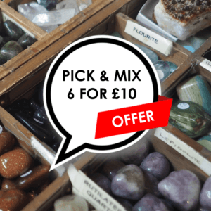 Pick and Mix Crystals A -  6 FOR £10