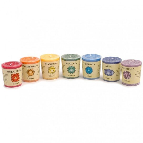 Chakra Candles All 7 Bundle for £10