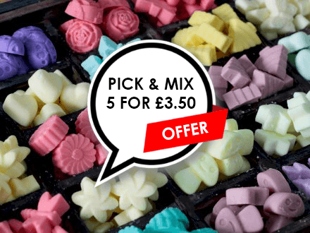 Pick And Mix Natural Soy Wax Melts - (5 For £3.50)