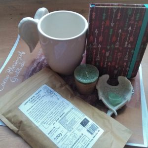 Cacao Ceremony Kit / Gift Set with 200g Bag