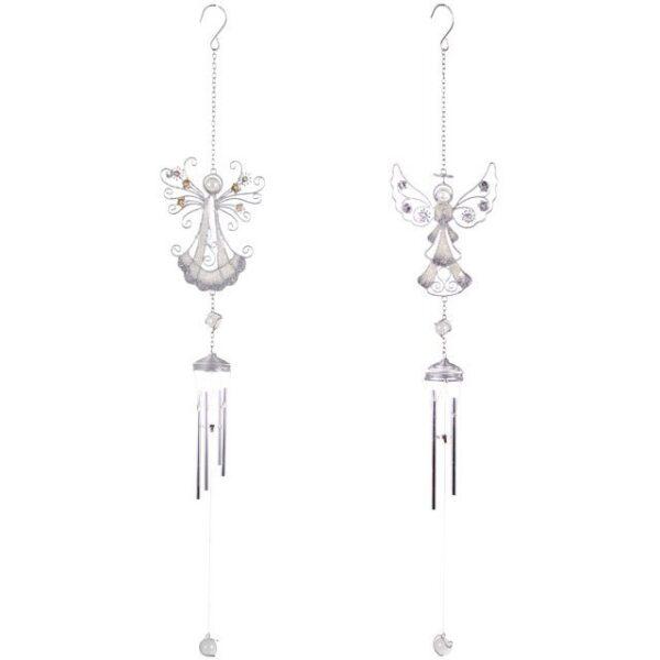 Silver Angel Windchime - Design 1
