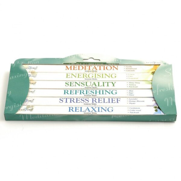 Aromatherapy 6 pack Incense Sticks Collection
