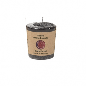 Scented votive candle - Black Forest