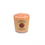 Scented votive candle - Joy and Love