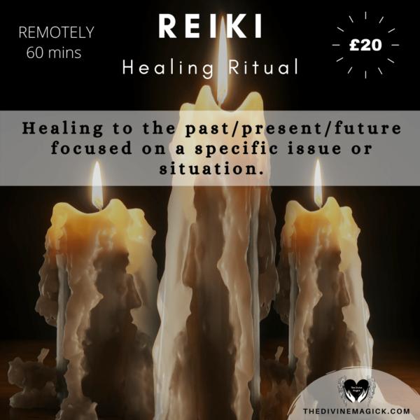 Reiki Healing Ritual (Specific Focus)