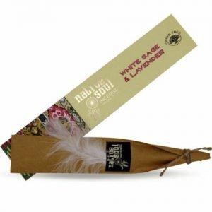 Native Soul White Sage & Lavender Incense Sticks (12 sticks)