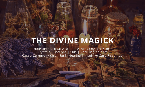 Holistic, Spiritual & Wellness Metaphysical Store Crystals | Incense | Oils | Spell Ingredients Cacao Ceremony Kits | Reiki Healing | Intuitive Card Readings