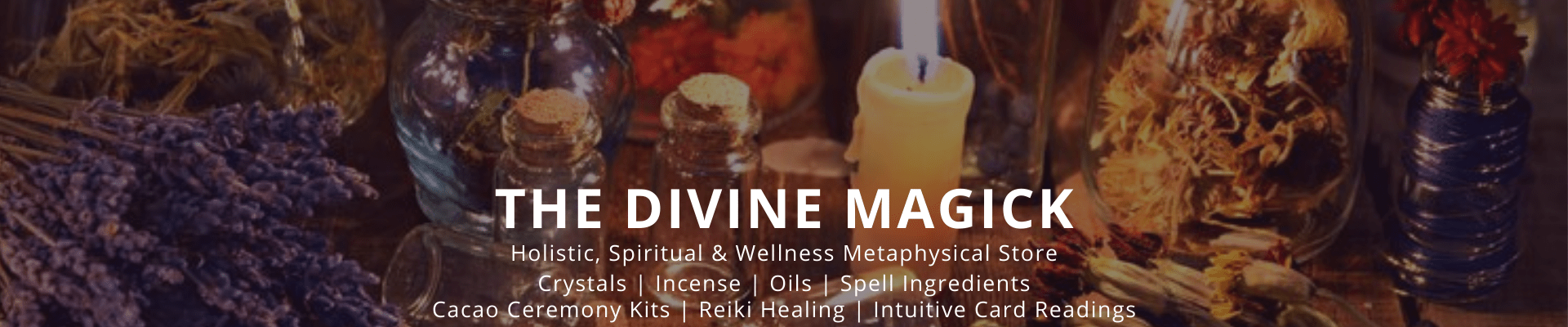 TheDivineMagick | Holistic, Spiritual & Wellness Products | Metaphysical Supplies | Guidance & Self Development Hub
